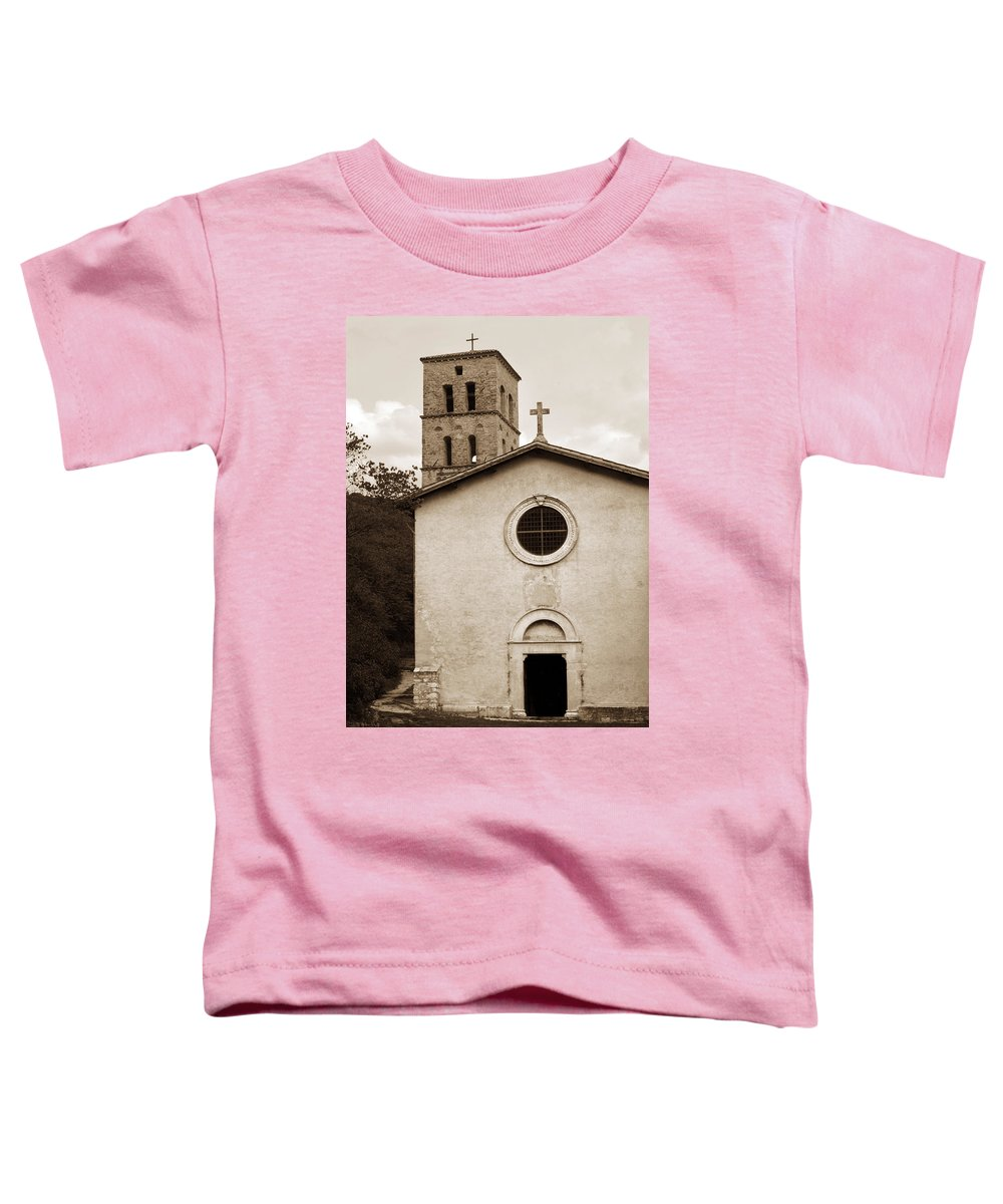 Curch Toddler T-Shirt featuring the photograph Nice Old Church For Wedding by Marilyn Hunt