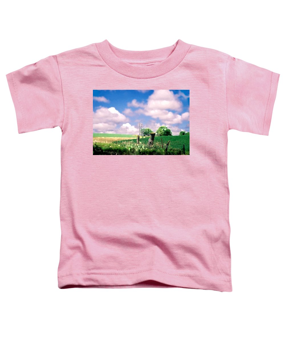 Landscape Toddler T-Shirt featuring the photograph Off The Grid by Steve Karol