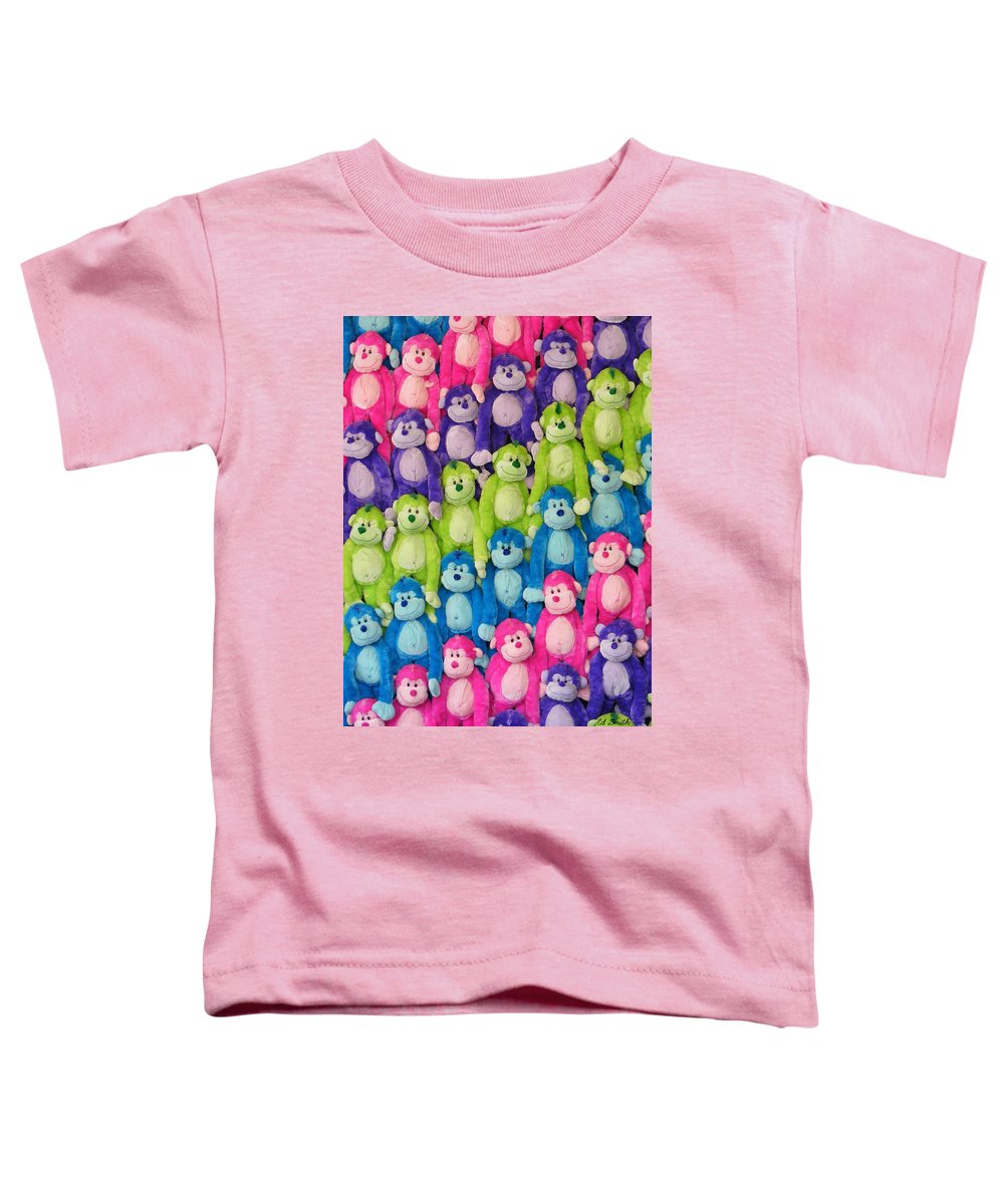 Ok Smiles Toddler T-Shirt featuring the photograph Ok Smiles Everyone by Ed Smith
