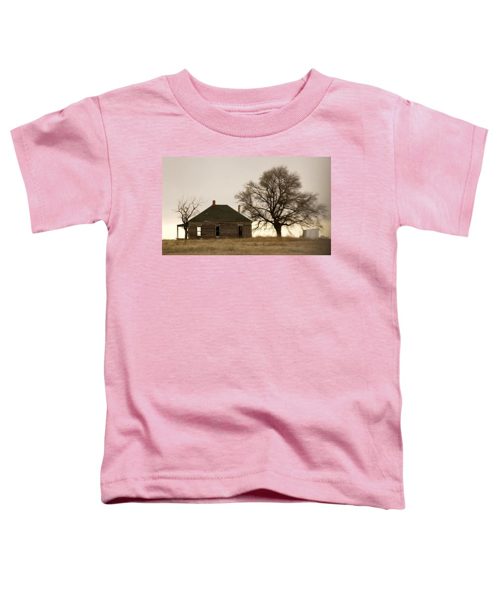 Americana Toddler T-Shirt featuring the photograph Once Upon A Time In West Texas by Marilyn Hunt