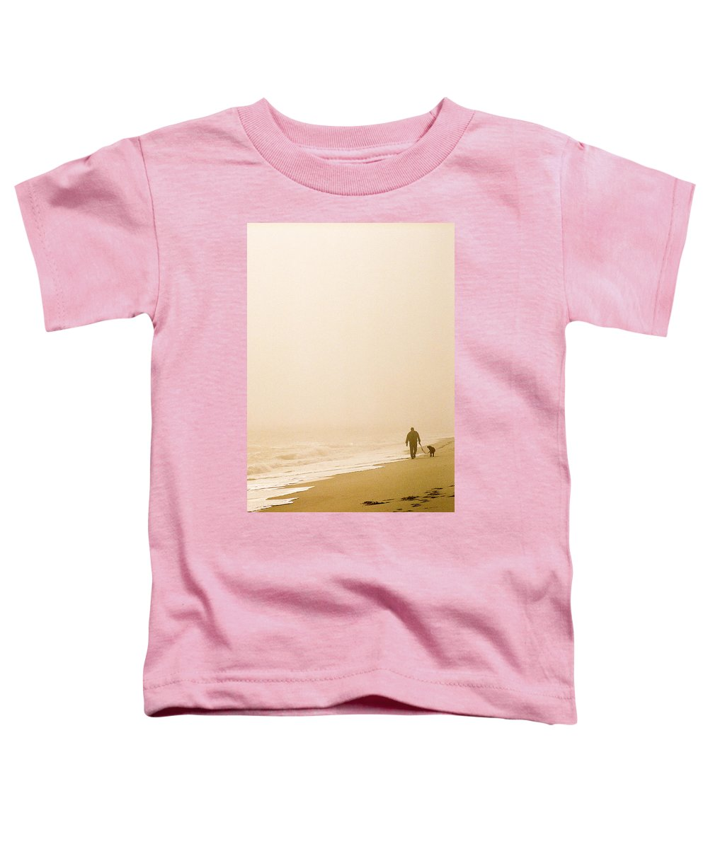 Landscape Toddler T-Shirt featuring the photograph Out Of The Mist by Steve Karol