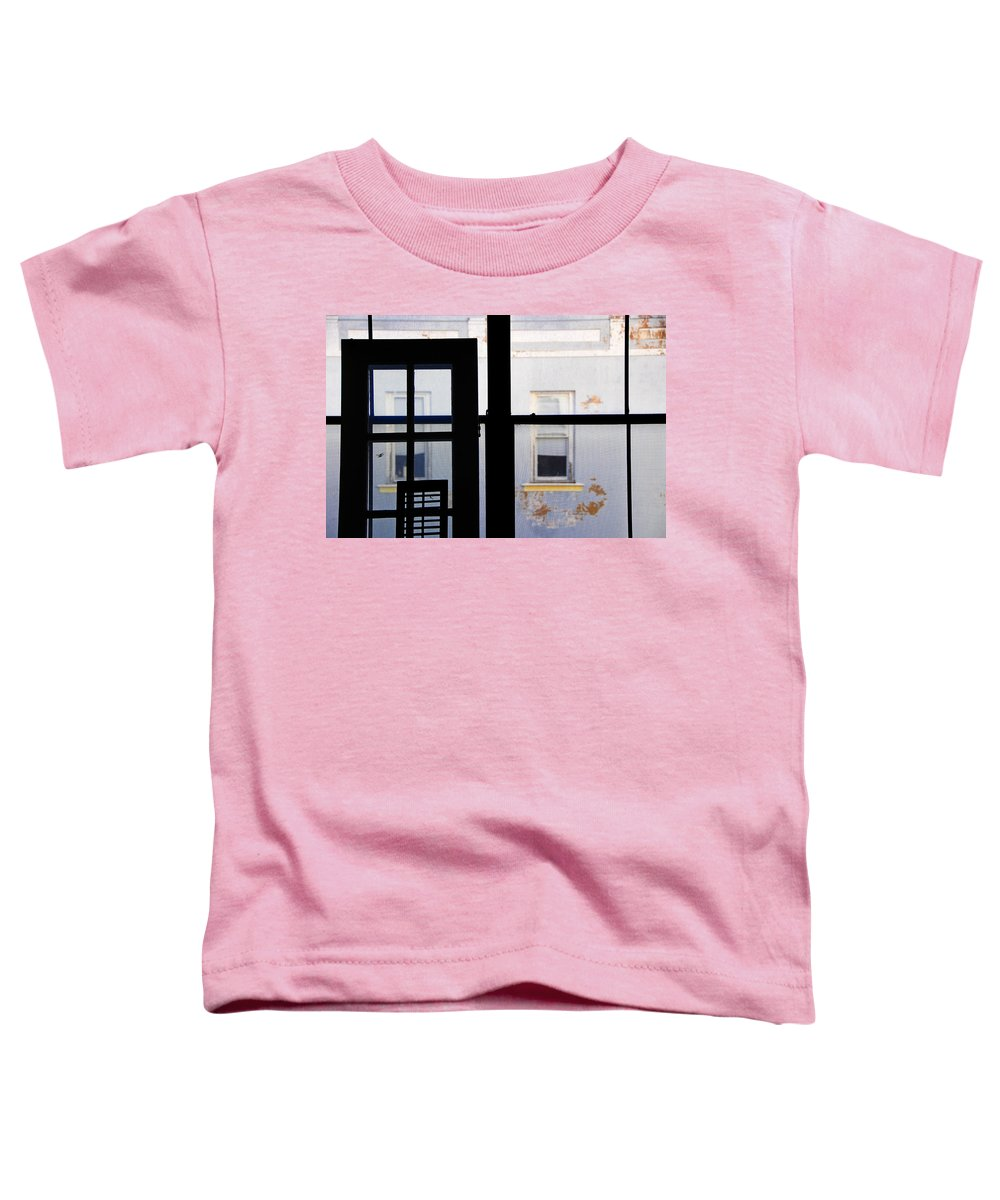 Architecture Toddler T-Shirt featuring the photograph Rear Window 3 by Skip Hunt