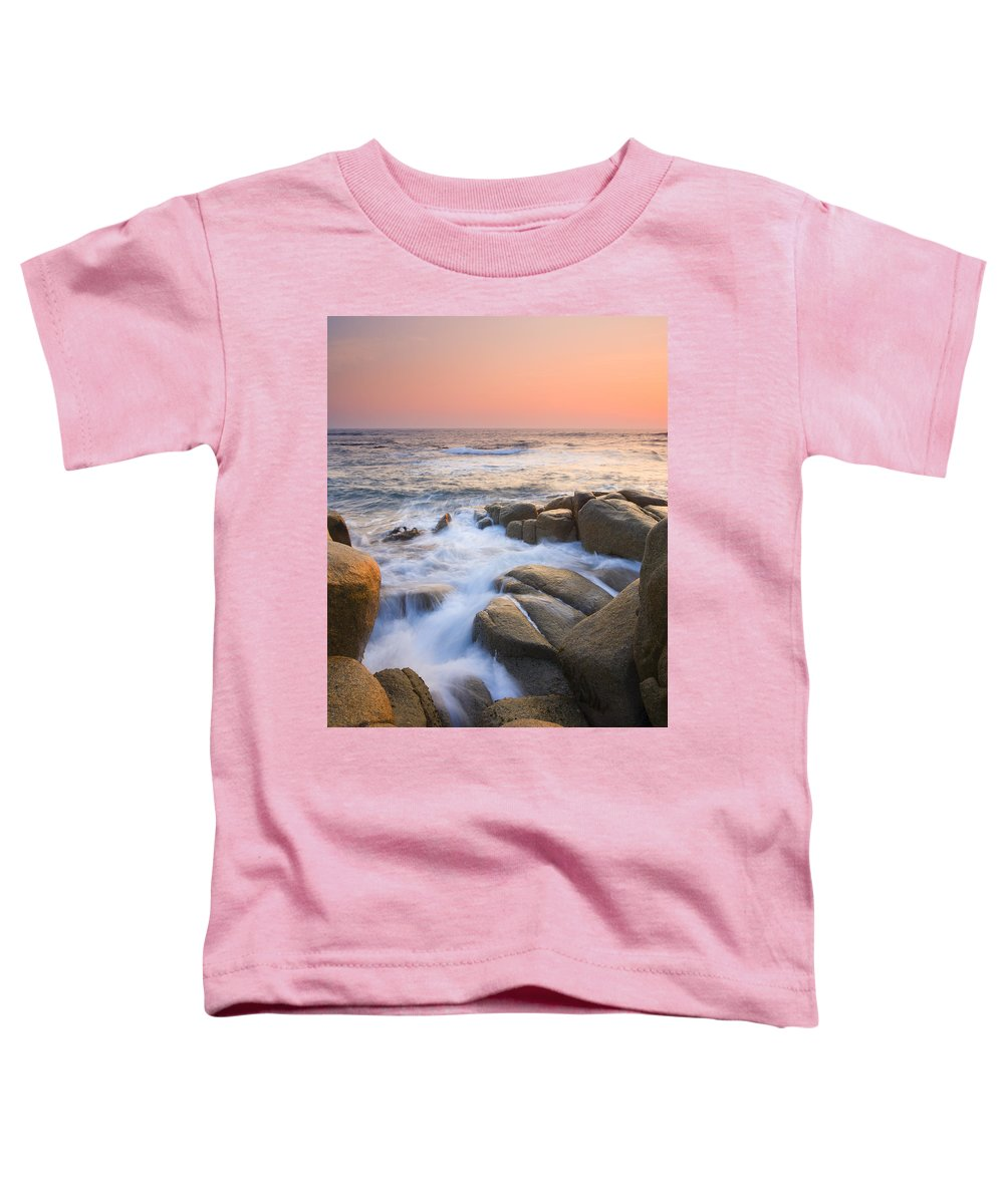 Sunrise Toddler T-Shirt featuring the photograph Red Sky At Morning by Mike Dawson