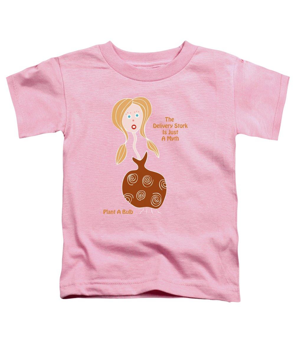 Stork Toddler T-Shirts