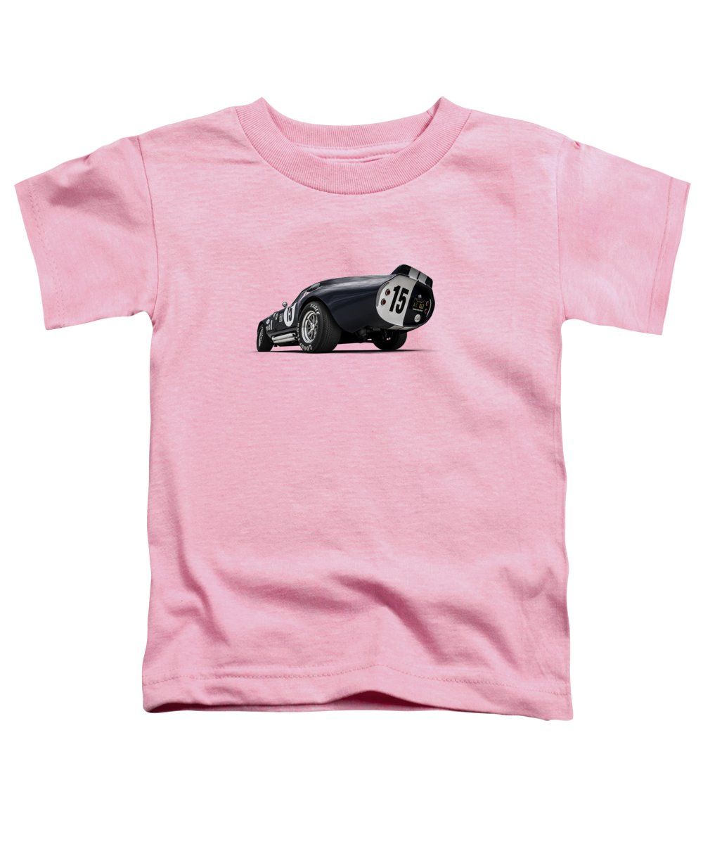 Shelby Toddler T-Shirt featuring the digital art Shelby Daytona by Douglas Pittman