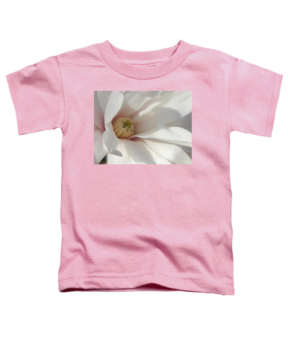 Toddler T-Shirt featuring the photograph Simply White by Luciana Seymour