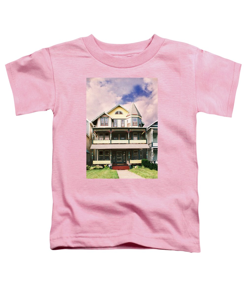 Landscape Toddler T-Shirt featuring the photograph Sisters Panel Three Of Triptych by Steve Karol
