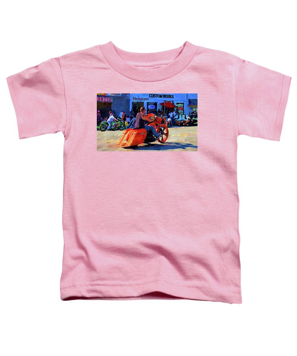 Alicegipsonphotographs Toddler T-Shirt featuring the photograph So Very Orange by Alice Gipson