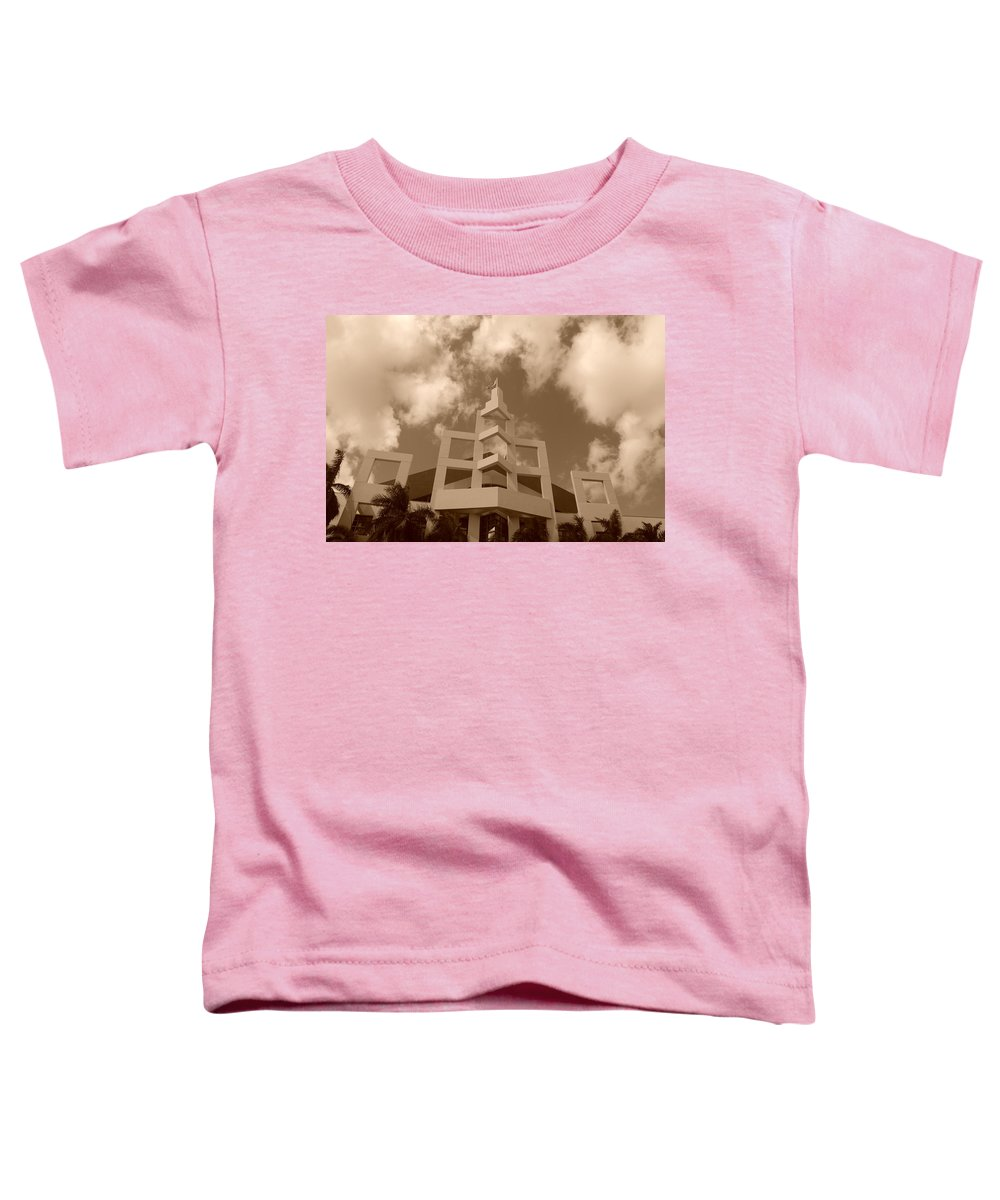 Architecture Toddler T-Shirt featuring the photograph Squares In The Sky by Rob Hans
