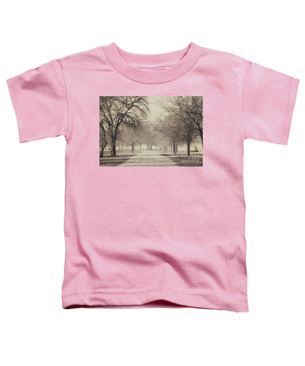 Trees Toddler T-Shirt featuring the photograph Stand Where I Stood by Dana DiPasquale