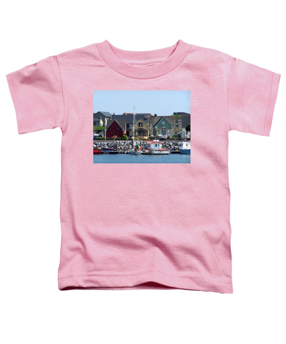 Irish Toddler T-Shirt featuring the photograph Summer Cottages Dingle Ireland by Teresa Mucha