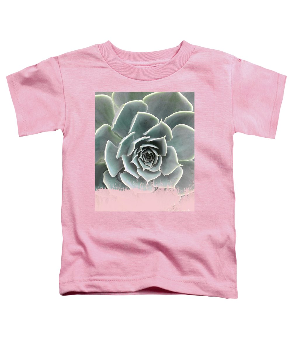 Succulent Mixed Media Toddler T-Shirts