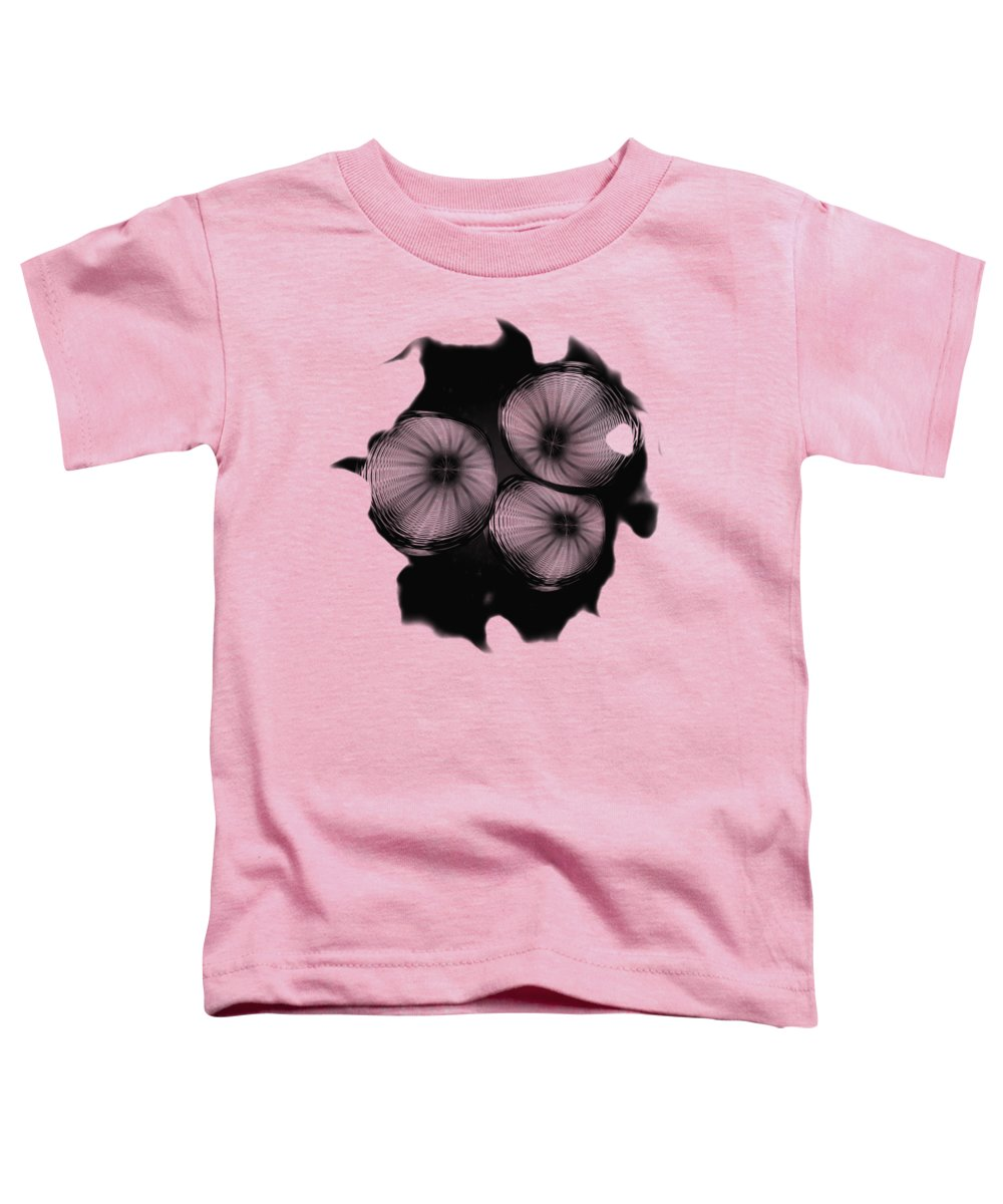 John M Bailey Toddler T-Shirt featuring the photograph Swirly 1 by John M Bailey
