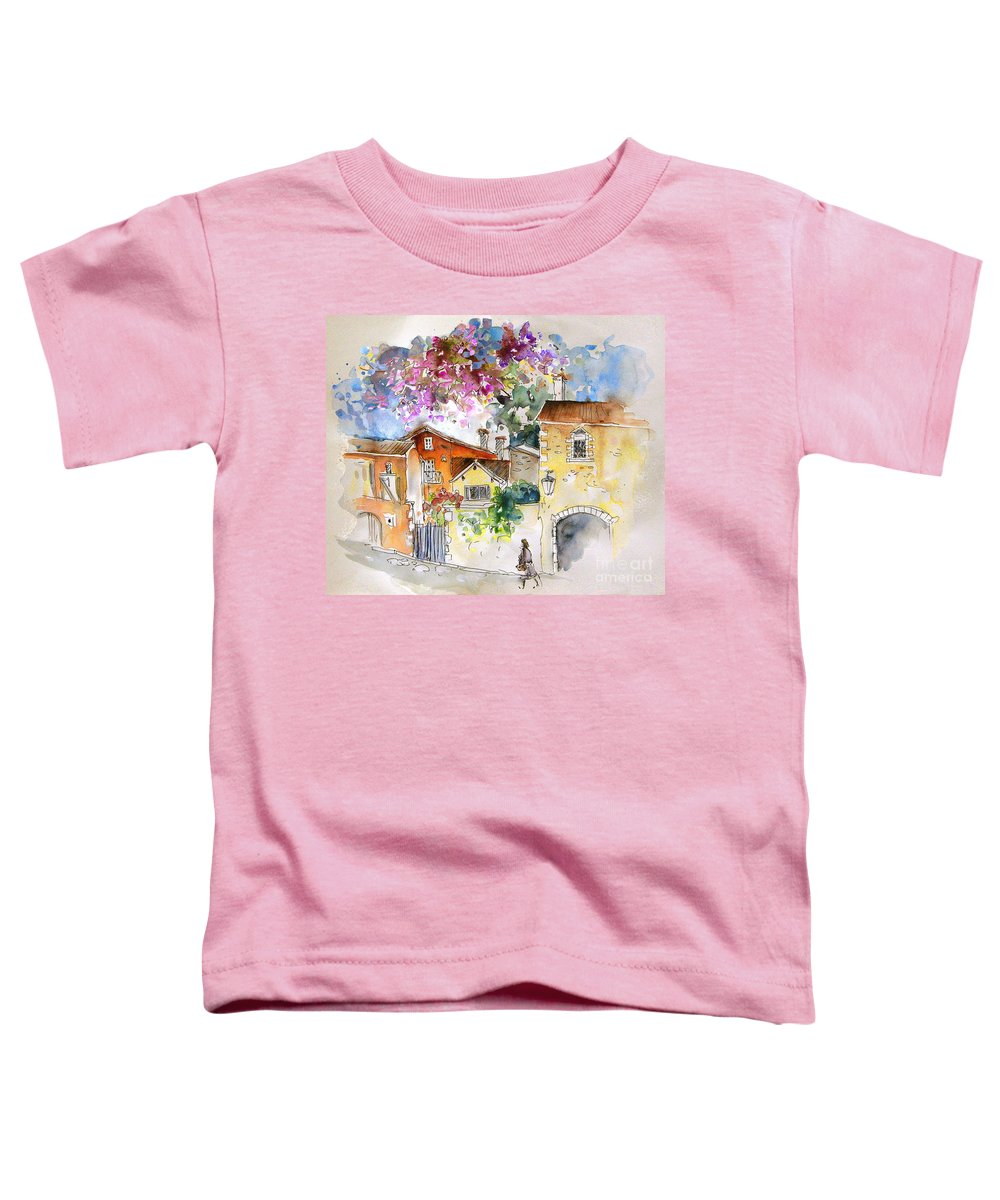 France Paintings Toddler T-Shirt featuring the painting The Perigord In France by Miki De Goodaboom