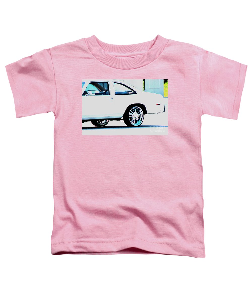 Car Toddler T-Shirt featuring the photograph The Ride by Amanda Barcon