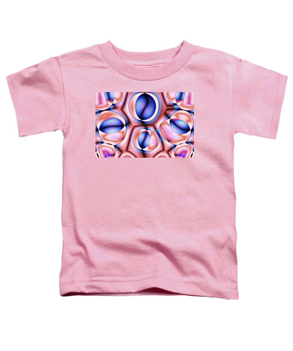Colors Toddler T-Shirt featuring the digital art Vision 38 by Jacques Raffin