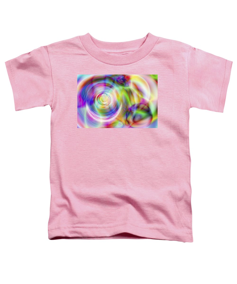 Crazy Toddler T-Shirt featuring the digital art Vision 7 by Jacques Raffin