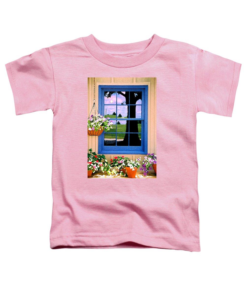 Still Life Toddler T-Shirt featuring the photograph Window by Steve Karol