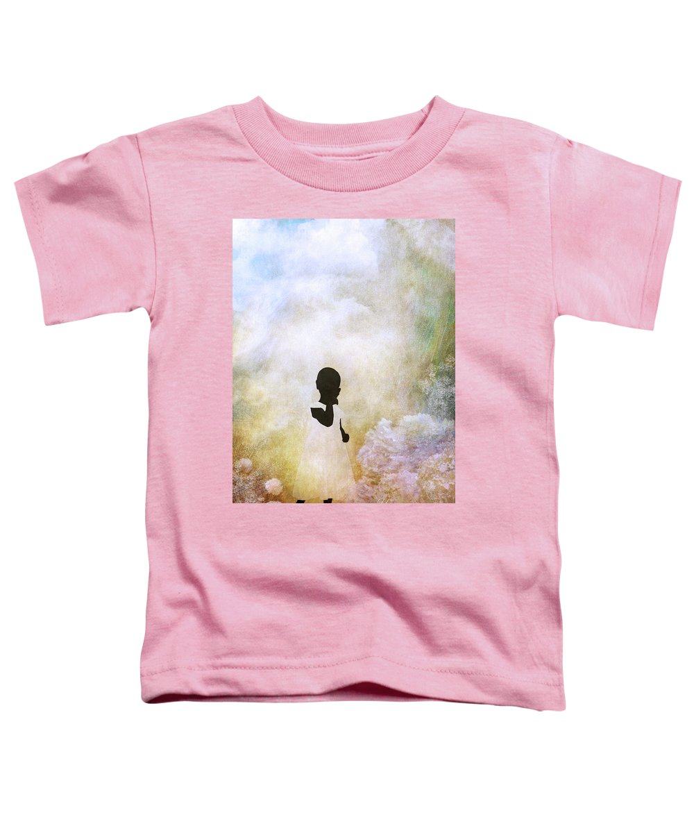 Sacred Toddler T-Shirt featuring the digital art Your Sacred Ground by Julie m Rae