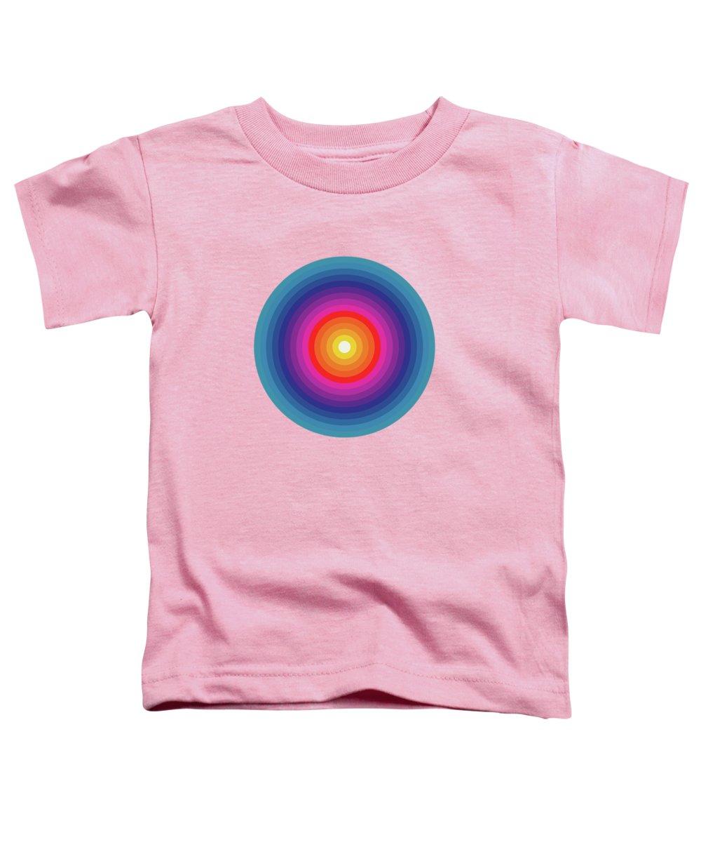 Red Eye Digital Art Toddler T-Shirts