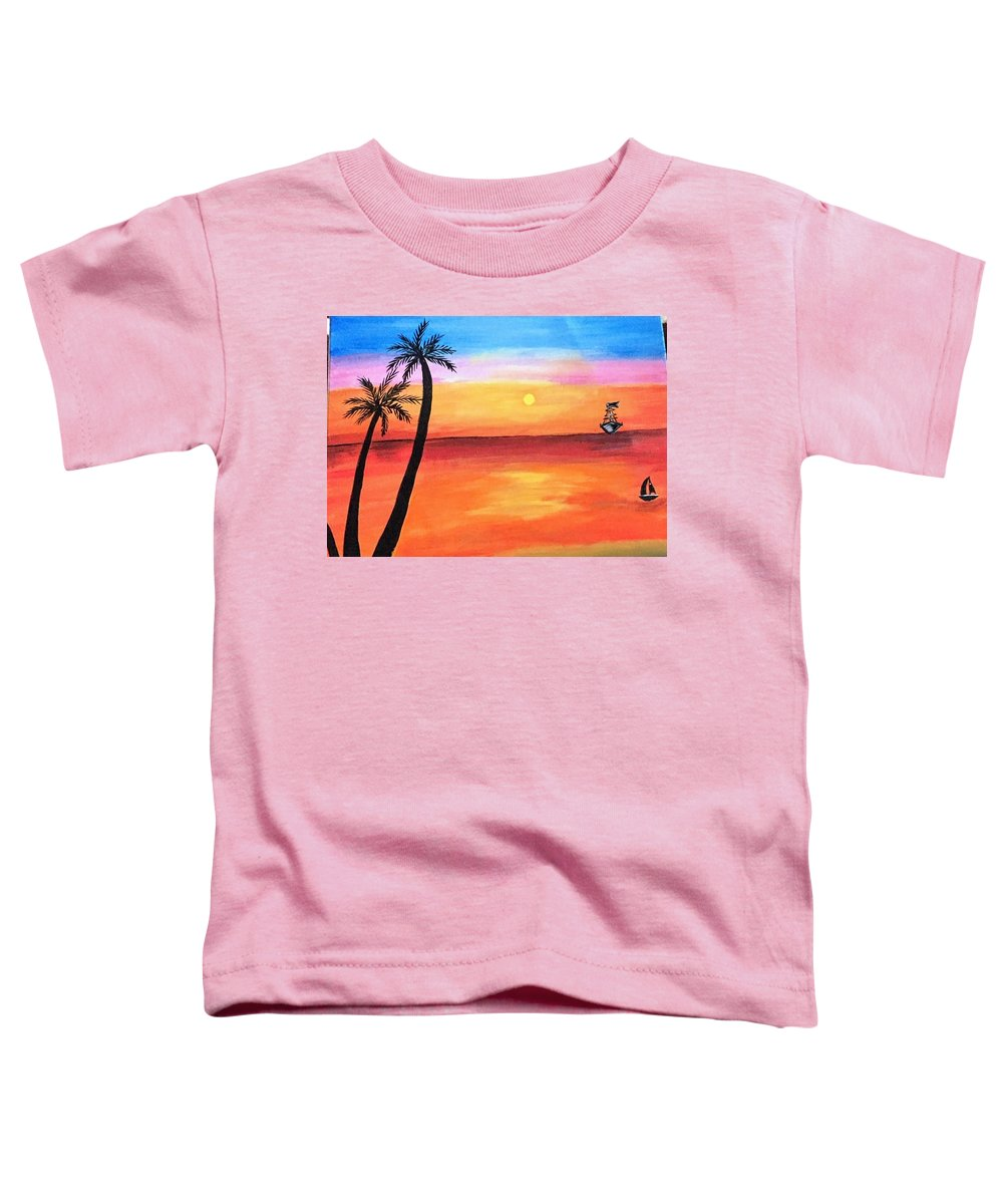 Color Paintings Toddler T-Shirts