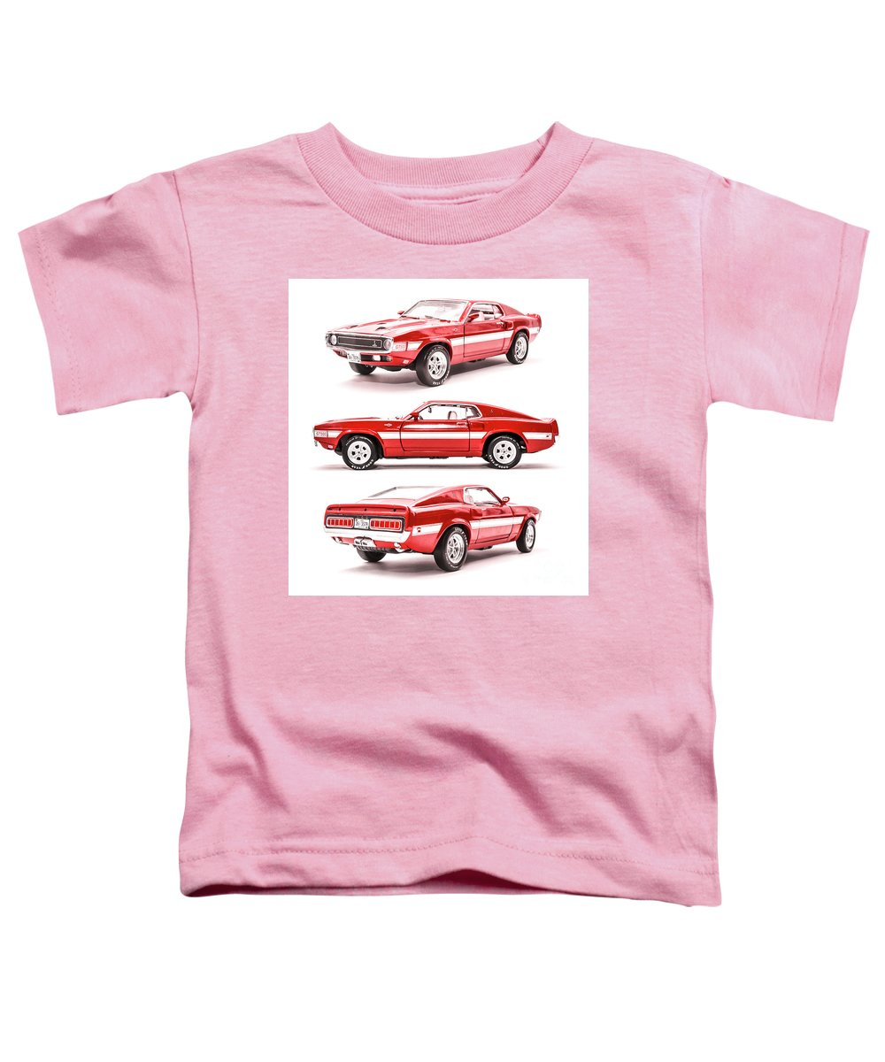 Cars Toddler T-Shirt featuring the photograph Shelby Gt500 by Jorgo Photography - Wall Art Gallery