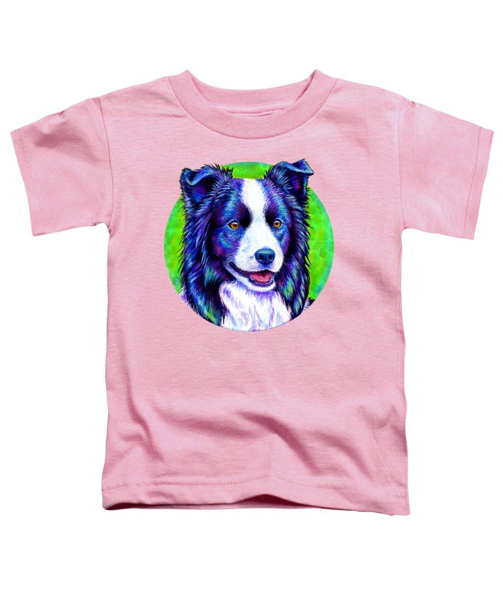 Border Paintings Toddler T-Shirts