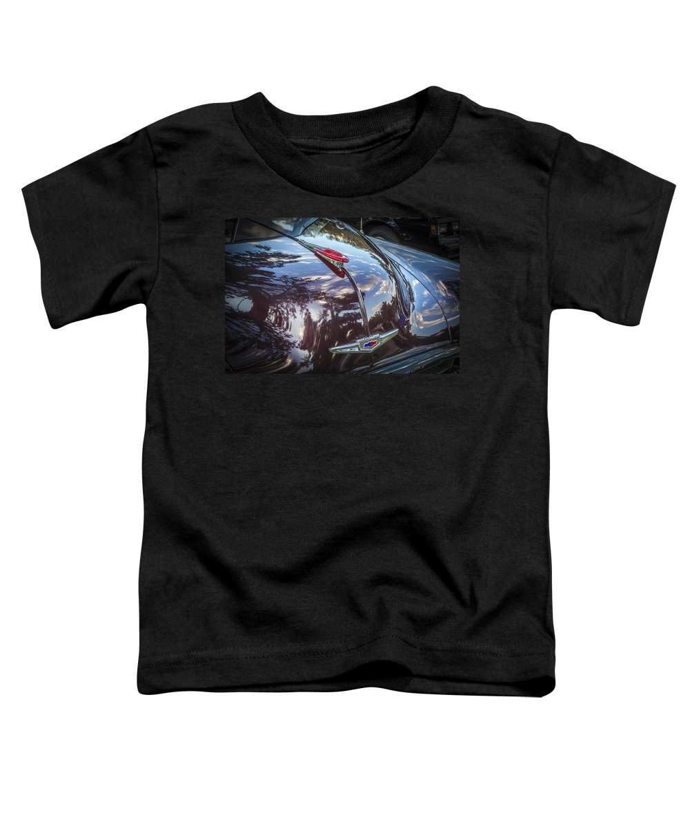 1949 Chevrolet Toddler T-Shirt featuring the photograph 1949 Chevrolet Sedan by Rich Franco
