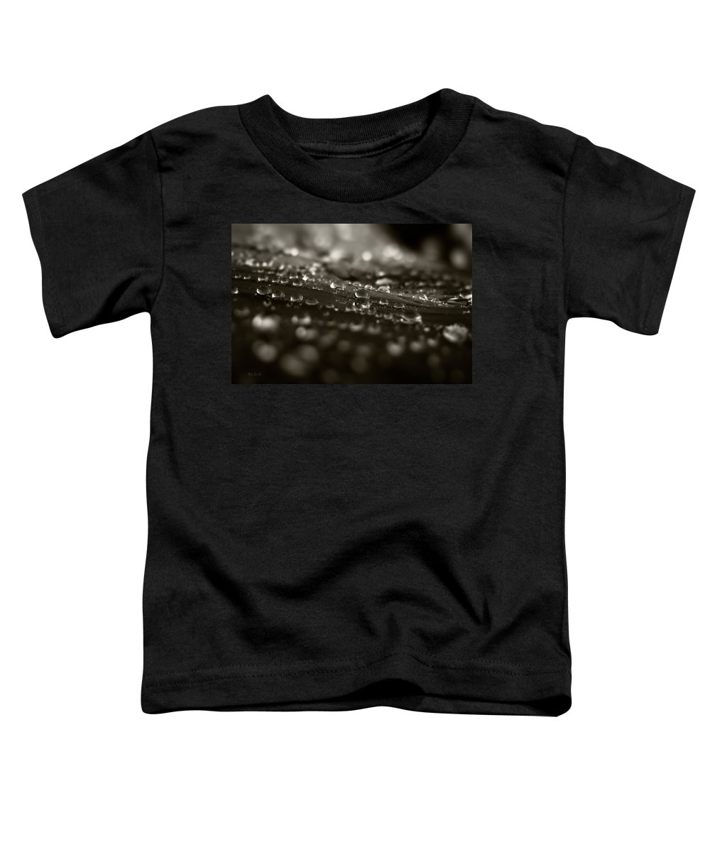 Dew Toddler T-Shirt featuring the photograph Morning Dew by Bob Orsillo