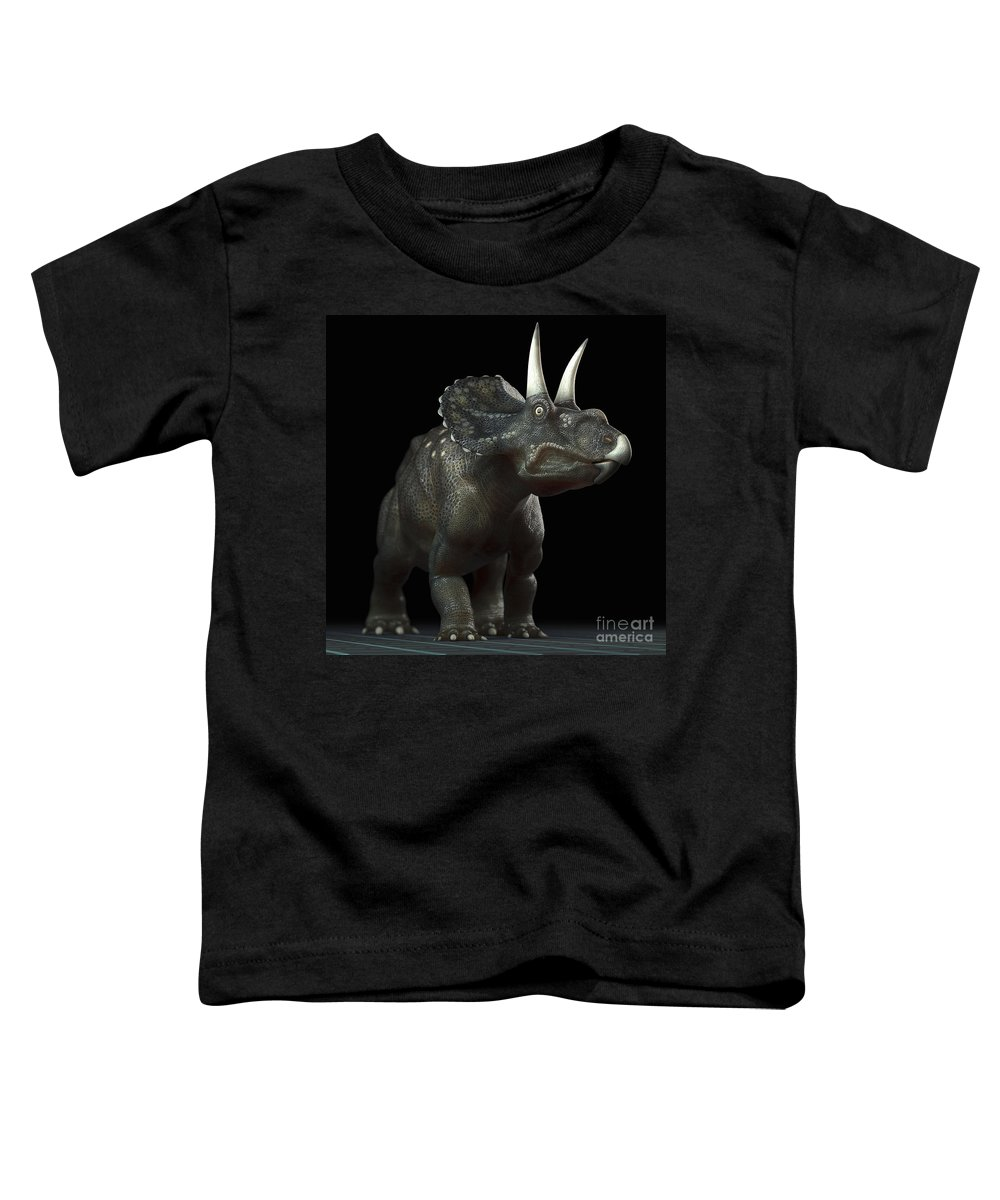 Diceratops Photographs Toddler T-Shirts