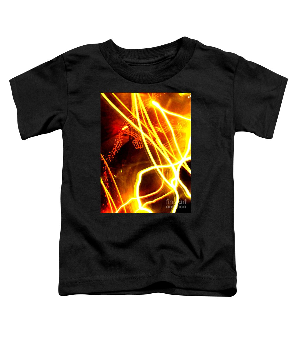 Abstract Toddler T-Shirt featuring the photograph Abstract by Amanda Barcon