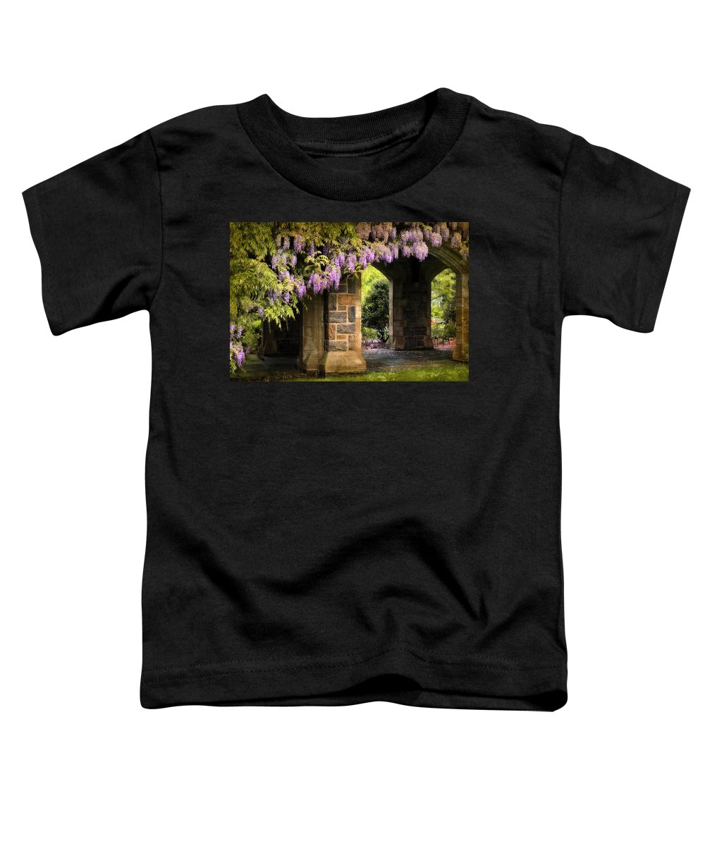 Spring Toddler T-Shirt featuring the photograph Adorned by Jessica Jenney