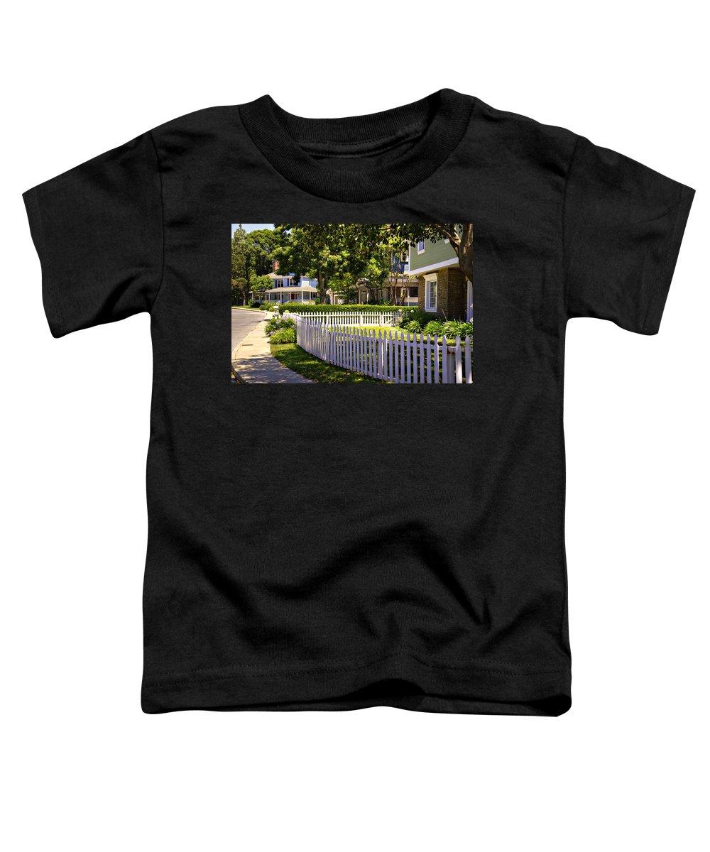 Desperate Toddler T-Shirt featuring the photograph Desperate Neighborhood by Ricky Barnard
