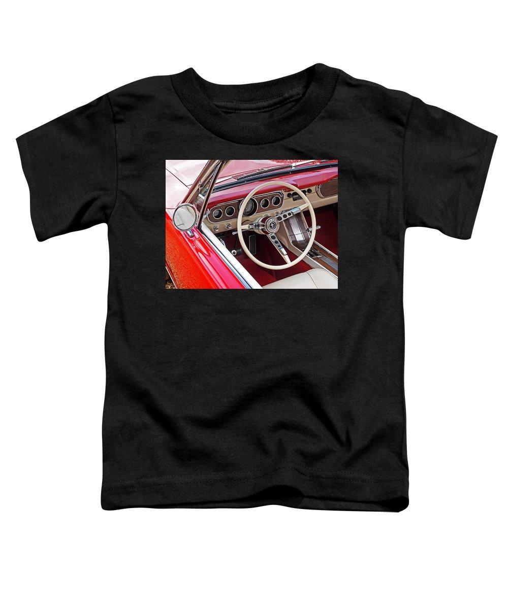 Steering Wheel Toddler T-Shirts