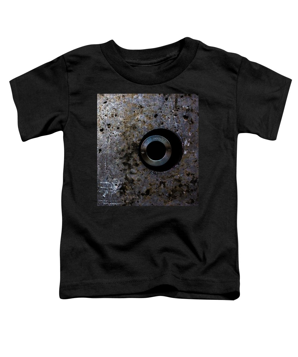 Foundation Toddler T-Shirt featuring the photograph Foundation Number Seventeen Spy by Bob Orsillo