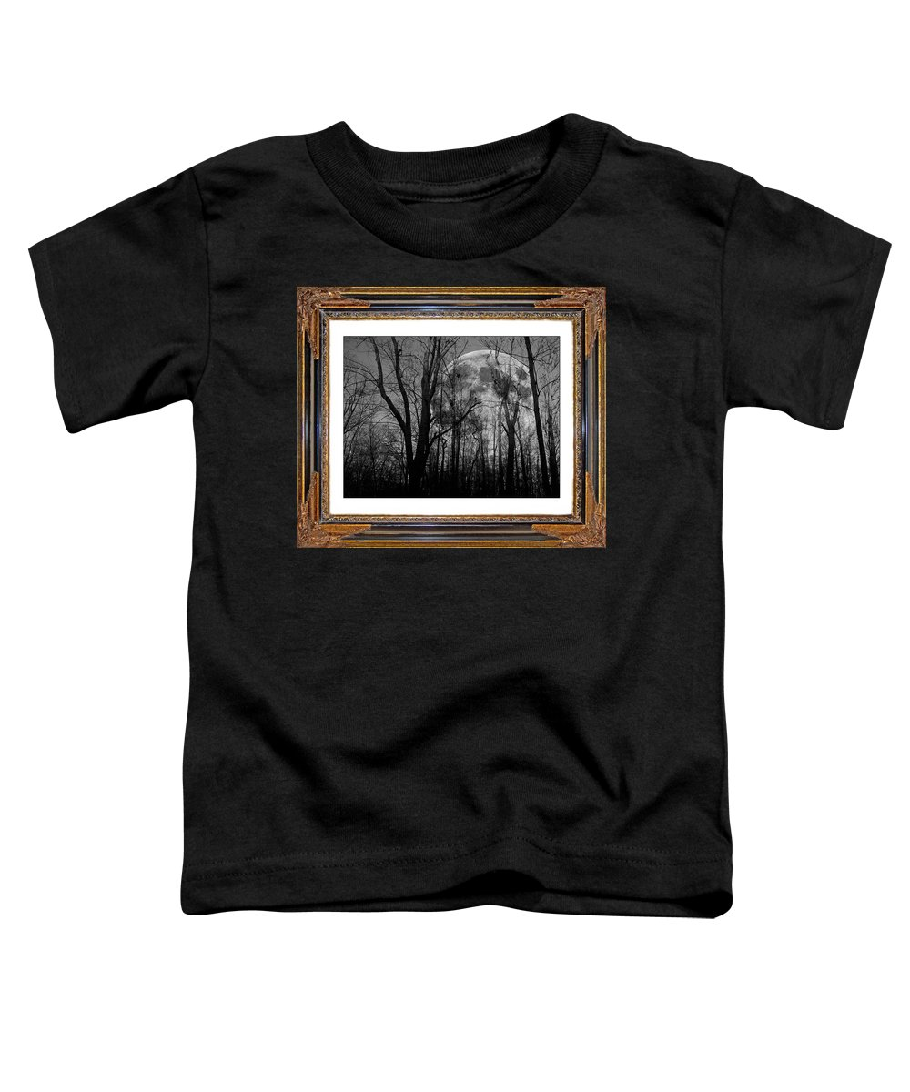 Full Toddler T-Shirt featuring the digital art Full Of Possibilities by Betsy Knapp
