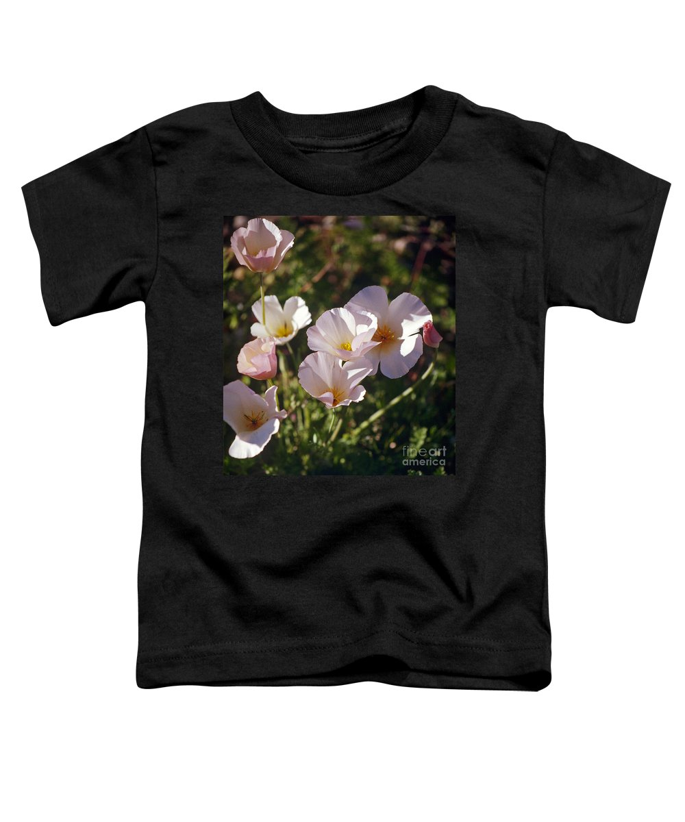 Flowers Toddler T-Shirt featuring the photograph Icelandic Poppies by Kathy McClure