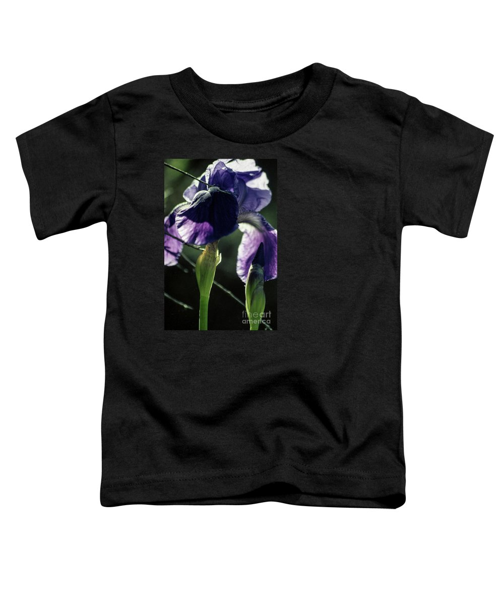 Flowers Toddler T-Shirt featuring the photograph Spring's Gift by Kathy McClure