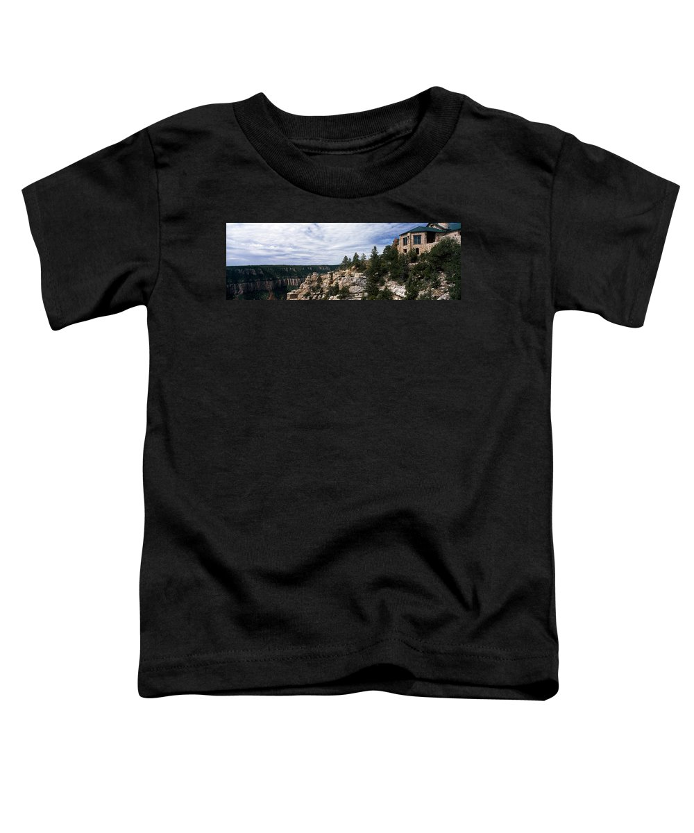 Photography Toddler T-Shirt featuring the photograph Low Angle View Of A Building, Grand by Panoramic Images
