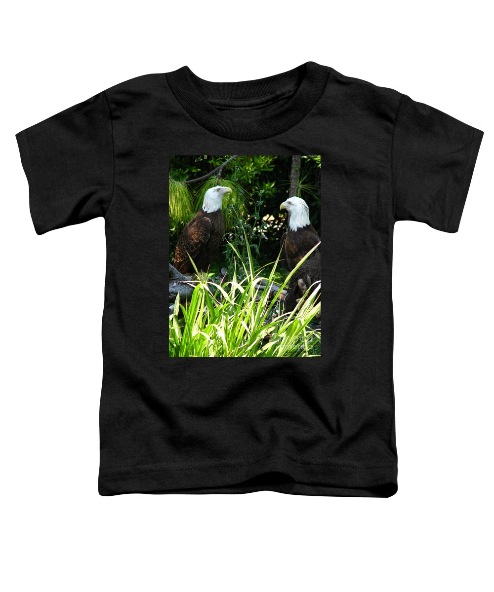 Patzer Toddler T-Shirt featuring the photograph Mates by Greg Patzer