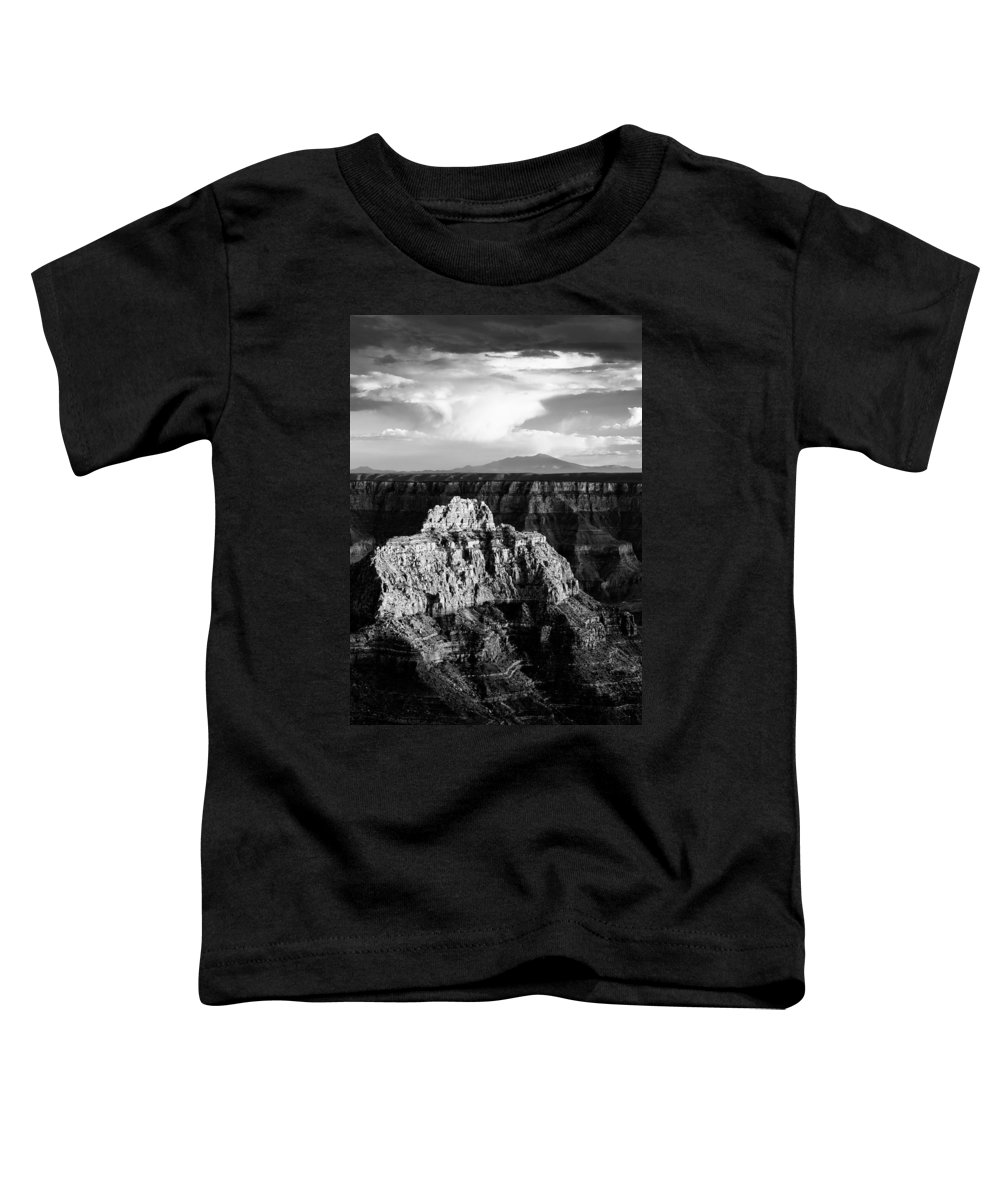 Grand Canyon Toddler T-Shirt featuring the photograph North Rim by Dave Bowman