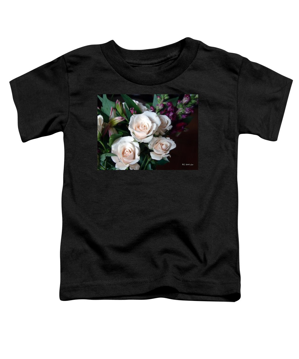 Flowers Toddler T-Shirt featuring the photograph Pardon My Blush by RC deWinter