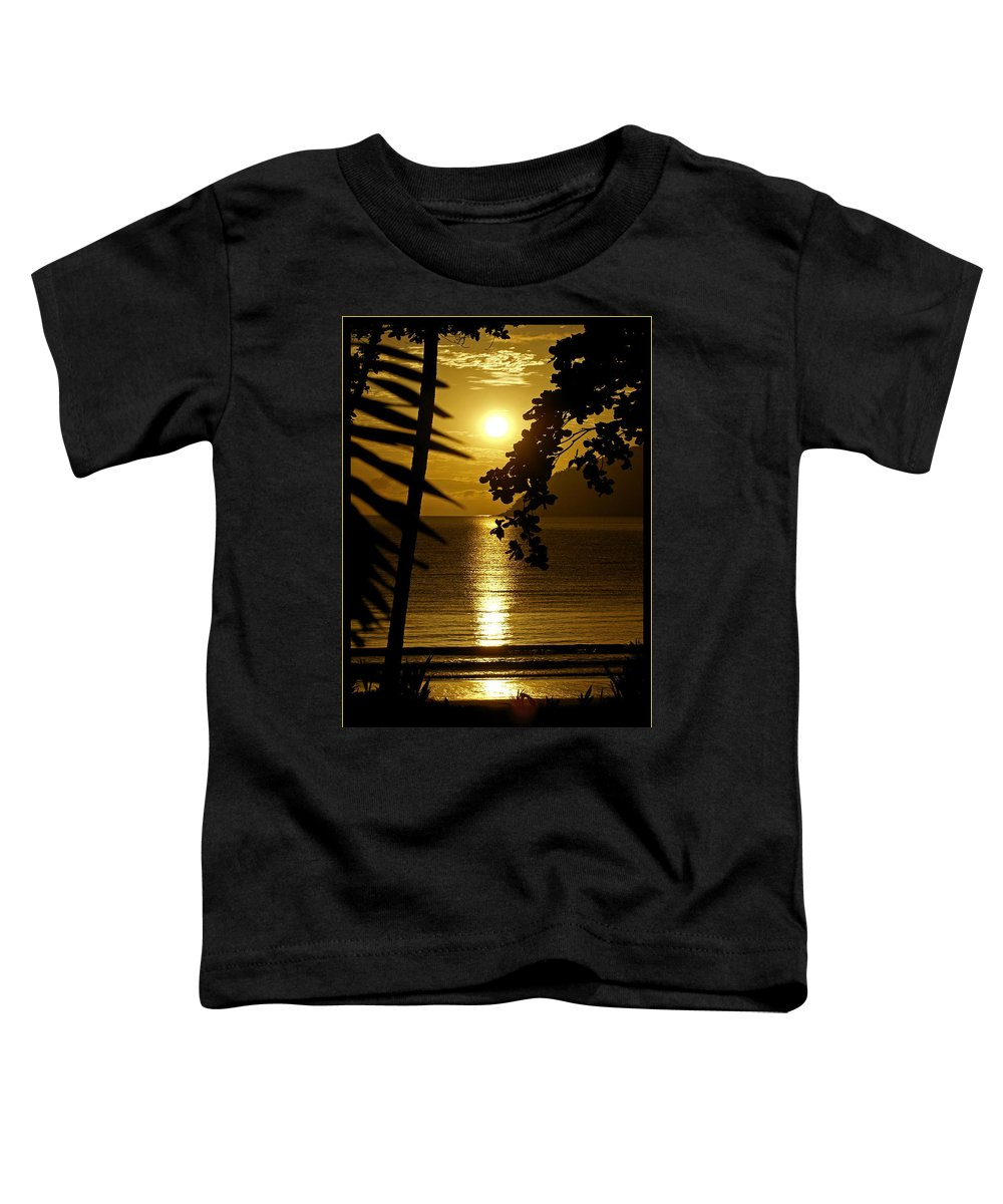 Landscapes Toddler T-Shirt featuring the photograph Shimmer by Holly Kempe
