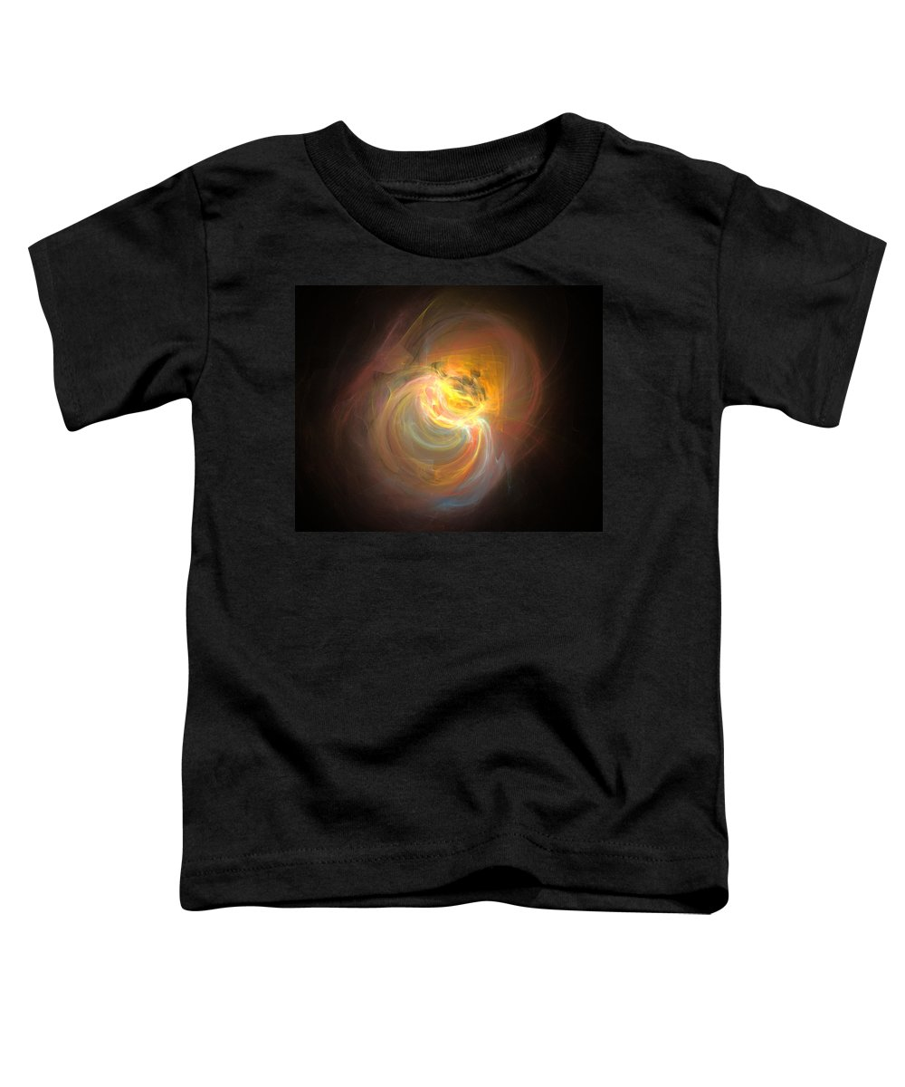 Digital Toddler T-Shirt featuring the digital art Taken by Brainwave Pictures