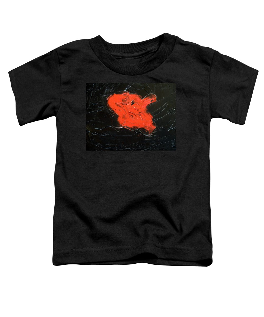 Surreal Toddler T-Shirt featuring the painting The Last Hope by Sergey Bezhinets