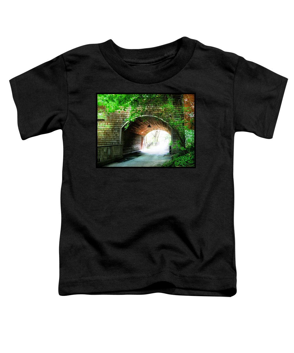 Shawn Toddler T-Shirt featuring the photograph The Road To Beyond by Shawn Dall