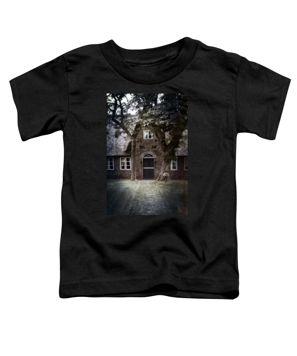 House Toddler T-Shirt featuring the photograph Thatch by Joana Kruse