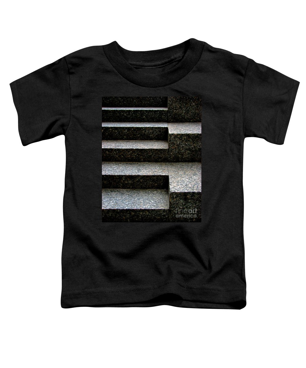 Architectural Toddler T-Shirt featuring the photograph Gradation by Dana DiPasquale