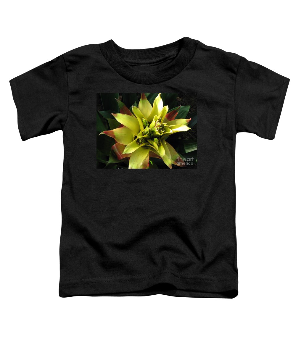 Tropical Toddler T-Shirt featuring the photograph Tropical by Amanda Barcon