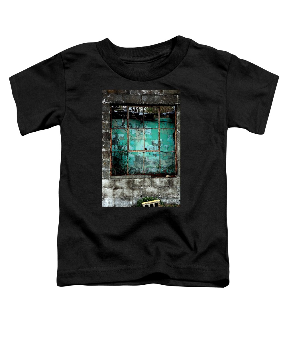 Windows Toddler T-Shirt featuring the photograph Window by Amanda Barcon